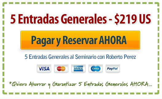 5 Entradas Generales $219US