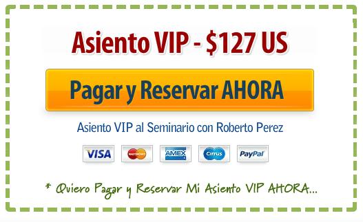 Asiento VIP $127 US